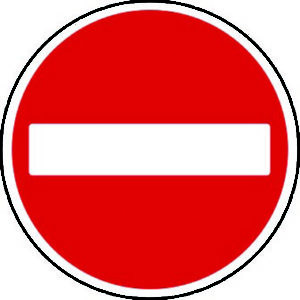 No Entry Hanuman image